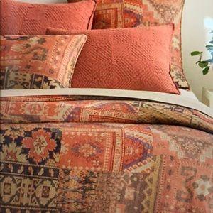 NWOT Pinecone Hill Anatolia Linen Duvet